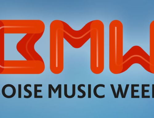 Boise Music Week Logo and Website Design