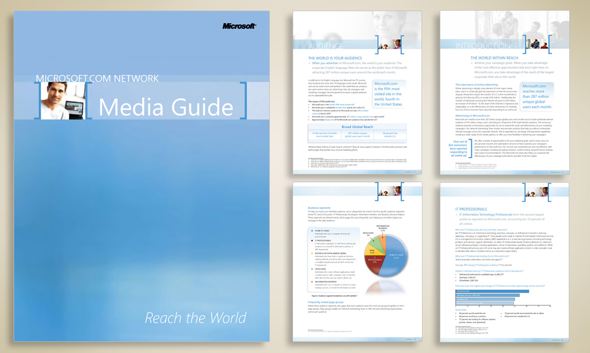 Microsoft Media Guide Design
