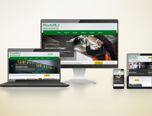 Pinchiff Mechanical Website Design